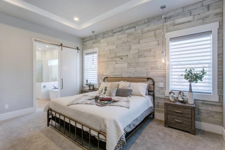 Shabby Chic Bedroom With A Rustic Farmhouse Feel Shabby Chic Style Bedroom San Diego By Eldorado Stone
