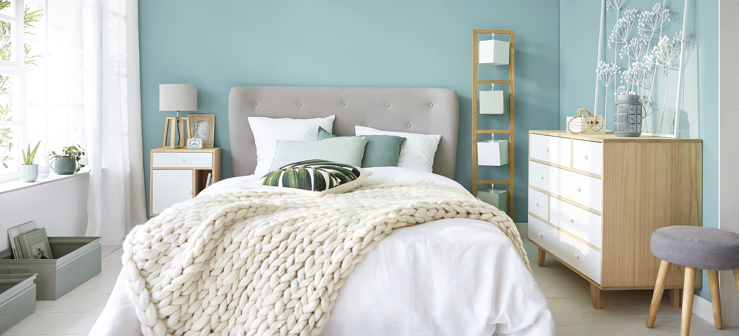 Calamite fermatende arredamento mobili e accessori per la casa kijiji annunci di ebay. 75 Beautiful Scandinavian Turquoise Bedroom Pictures Ideas September 2021 Houzz