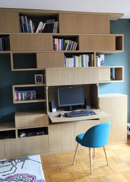 minimalistisch arbeitszimmer