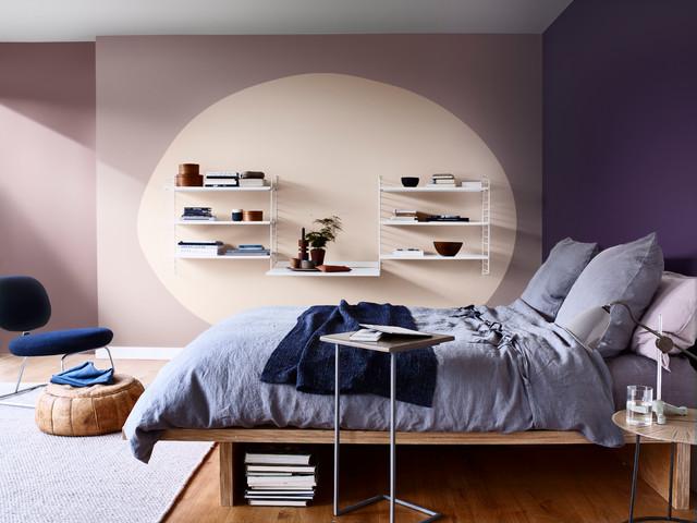 Visualizza altre idee su pareti a strisce camera da letto, pareti a strisce, camera da letto. 7 Pareti Colorate Che Migliorano Una Stanza Da Letto Piccola