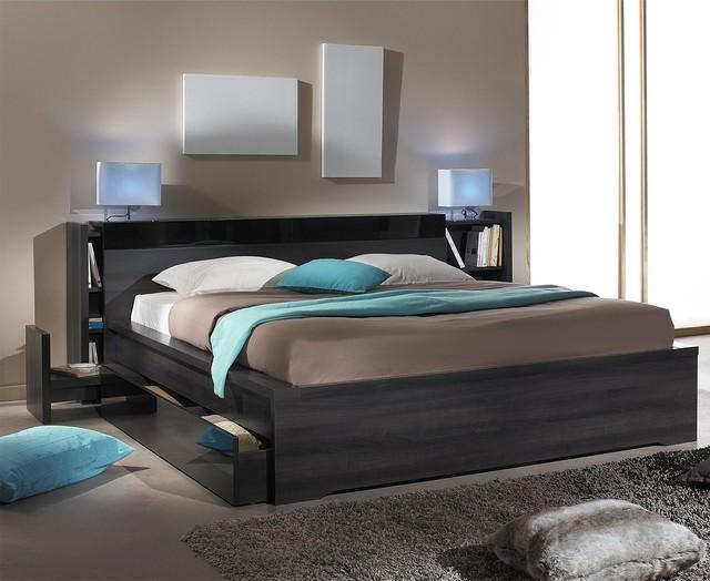 de lit avec rangements 140 cm