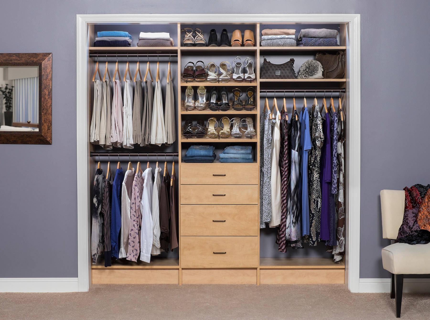 reach in closet pictures ideas