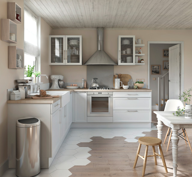 une cuisine moderne et epuree modern
