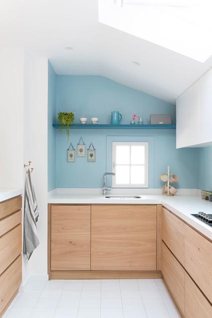 bleu blanc bois maritim kuche
