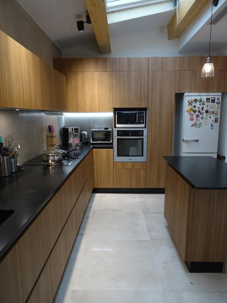 effet cuir tropical kitchen