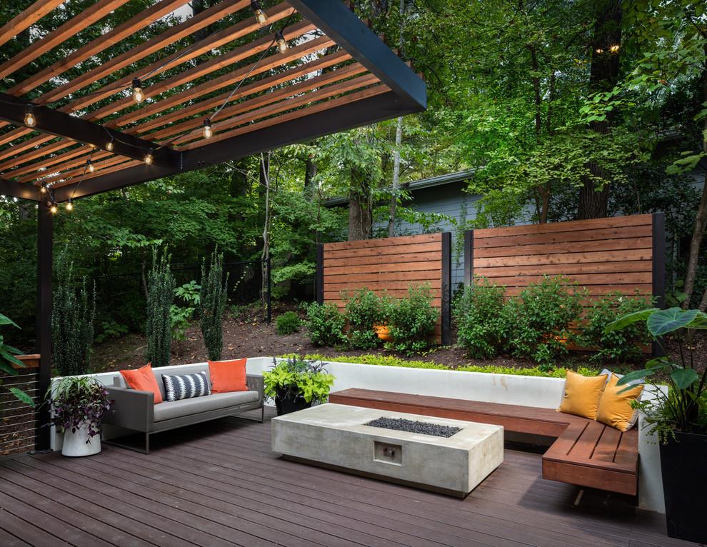 atlanta backyard retreat contemporary