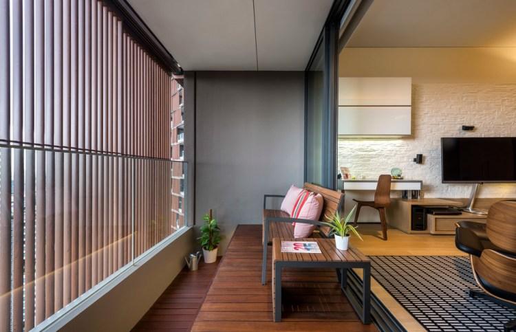 Balcony Design Twin Peaks Condo Contemporary Deck Singapore By Home Guide Design Contracts Pte Ltd