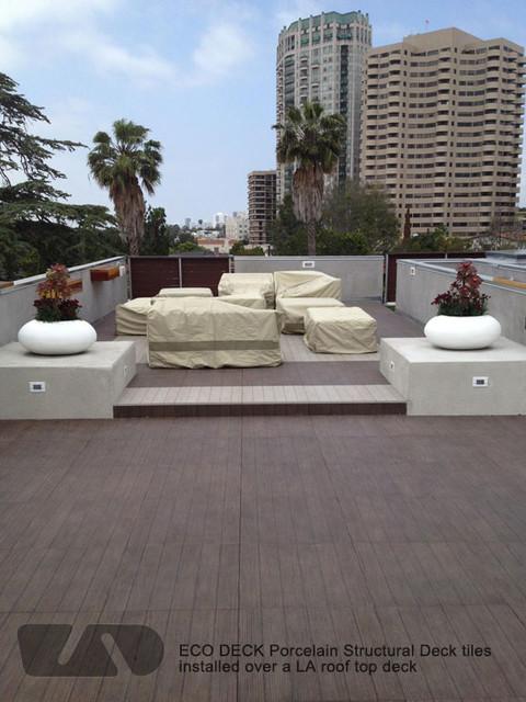lightweight porcelain deck tiles