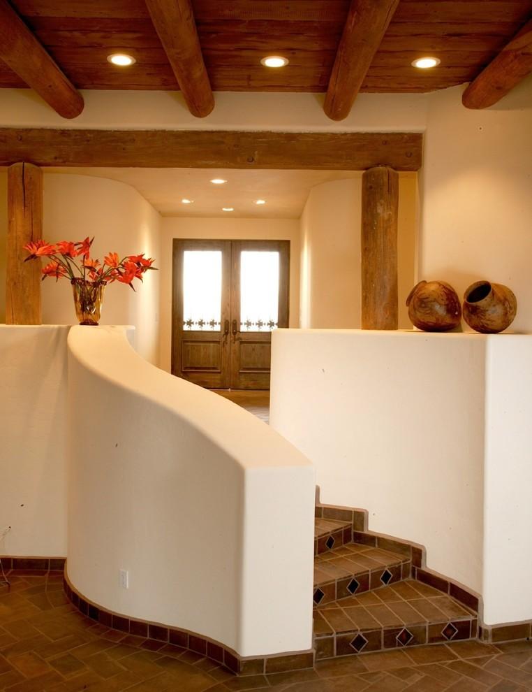 Santa Fe Style Homes Interior : santa, style, homes, interior, SANTA, STYLE, HOME,, Valley,, Contemporary, Entry, Phoenix, Weststarr, Custom, Homes,LLC.