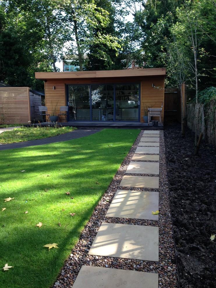 Garden Office Modern Shed London By Amanda Broughton Garden Design