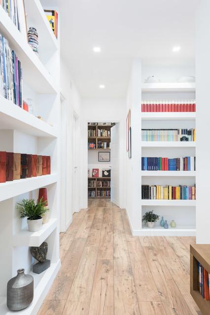 Le strutture in cartongesso, soprattutto parlando di librerie, pareti attrezzate &co,. 12 Esempi Da Copiare Di Librerie In Cartongesso