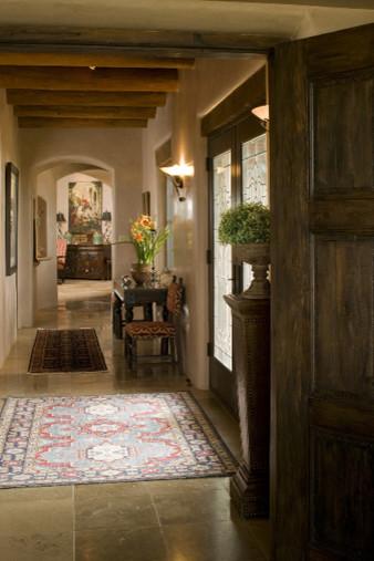 Santa Fe Style Homes Interior : santa, style, homes, interior, Traditional, Santa, Style, Rustic, Corridor, Albuquerque, Tierra, Concepts