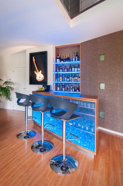 comptoir bar design contemporain
