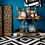 Art Over Bar Cart Ideas Photos Houzz