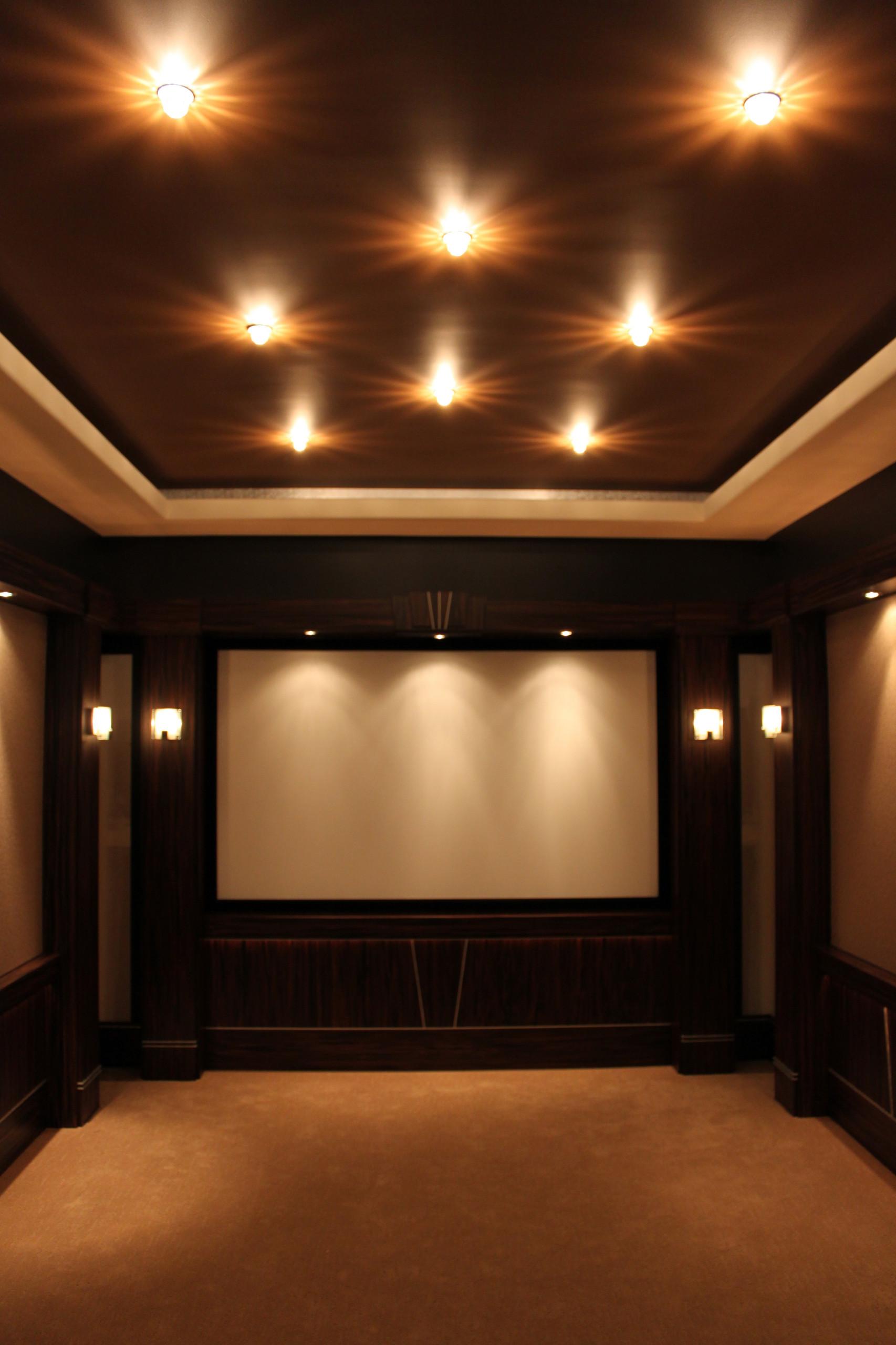 home theatre lighting houzz