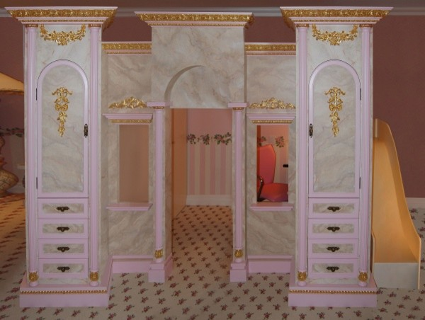 girls princess bed princess room