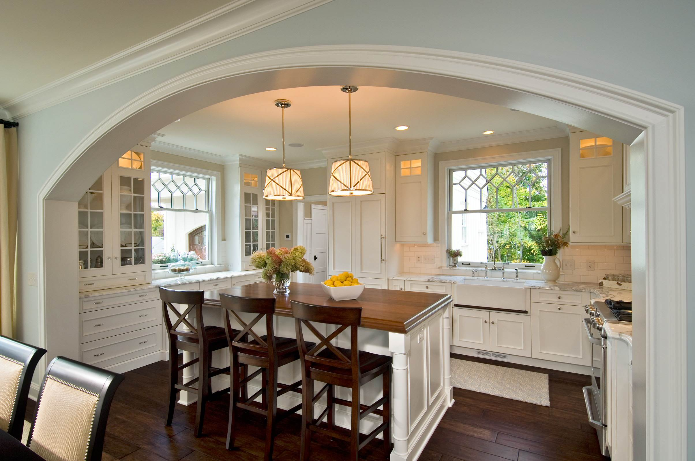 Muro divisorio cucina soggiorno.ci sono tante idee di design alle quale potete ispirarvi suggerimenti e consigli da mettere in pratica per. Arco In Cucina Foto E Idee Houzz