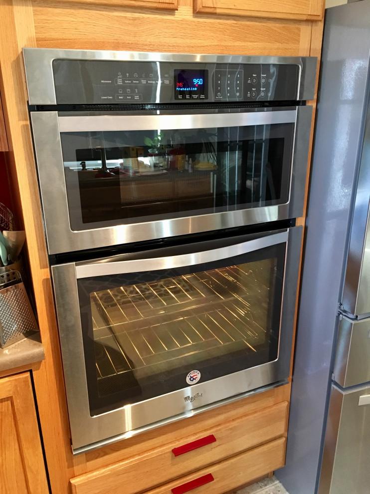 30 stainless steel whirlpool microwave