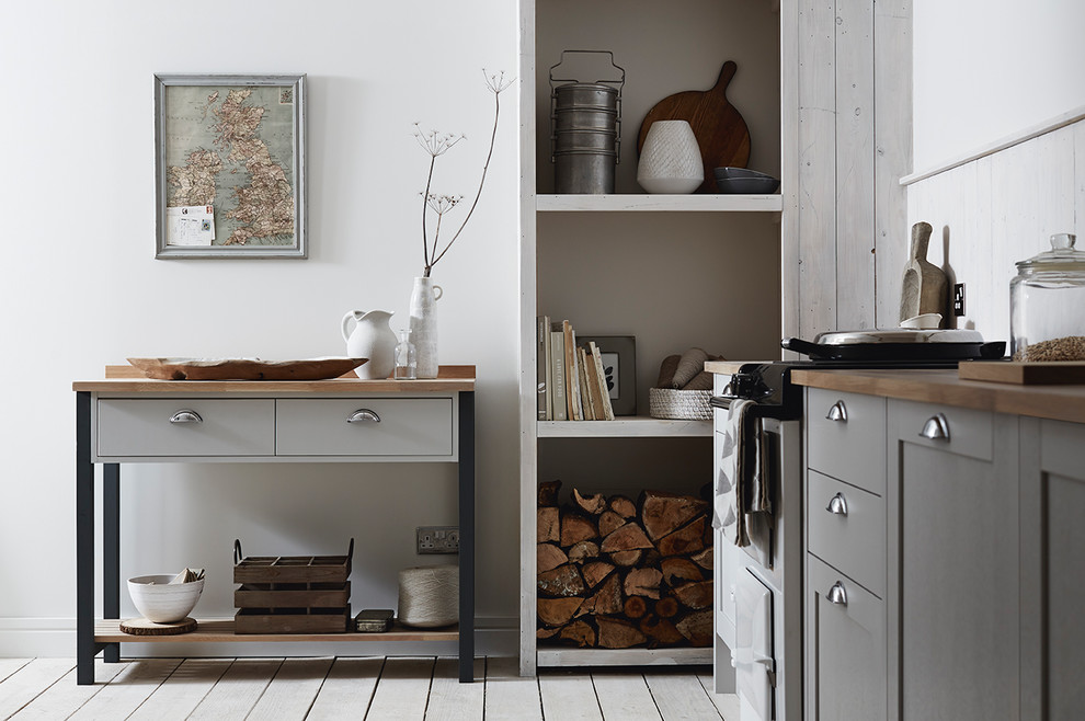 Allendale Dove Grey Shaker Style Kitchen Traditional Kitchen Other By Howdens
