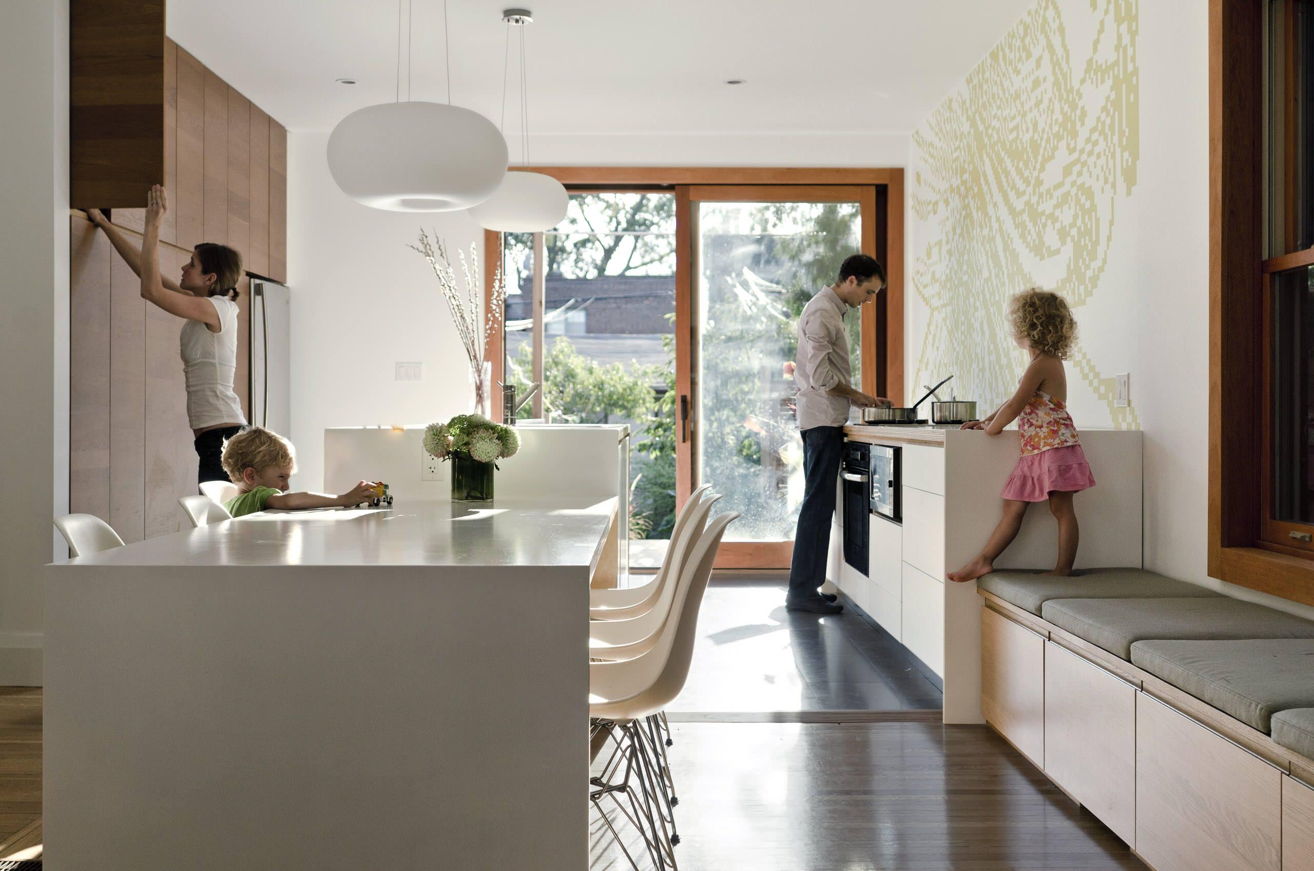 Built In Kitchen Benches Houzz