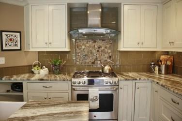 quartzite brown fantasy philadelphia kitchen leathered transitional island cabinets countertops