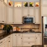 Tropical Brown Granite White Cabinets Ideas Photos Houzz