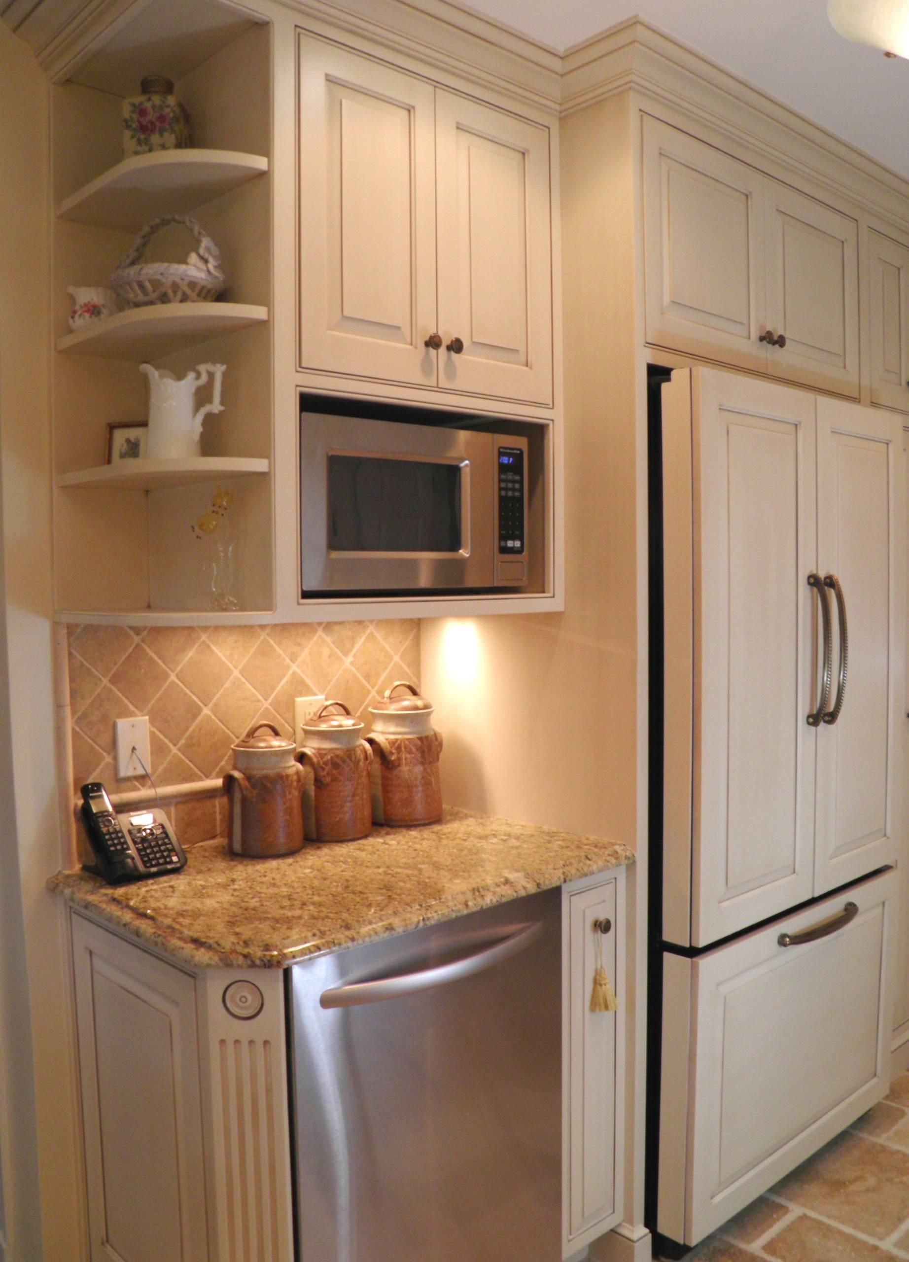 corner microwave shelf houzz