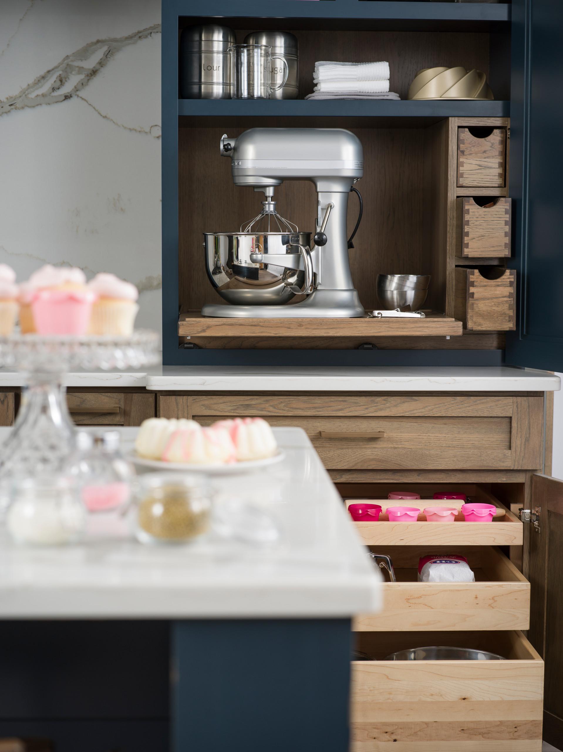 baking station larder cabinet
