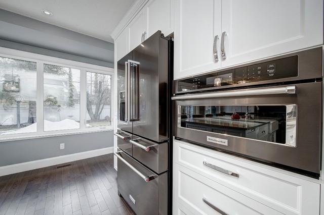 kitchen aid black stainless steel
