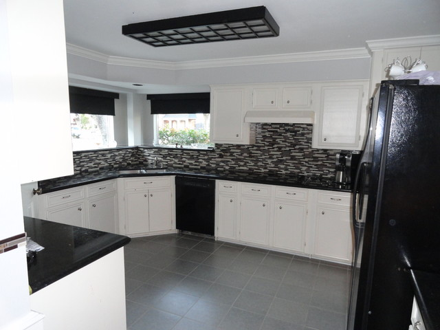 kitchen glass mosaic tile floor tile