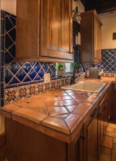 mexican tile designs kitchen