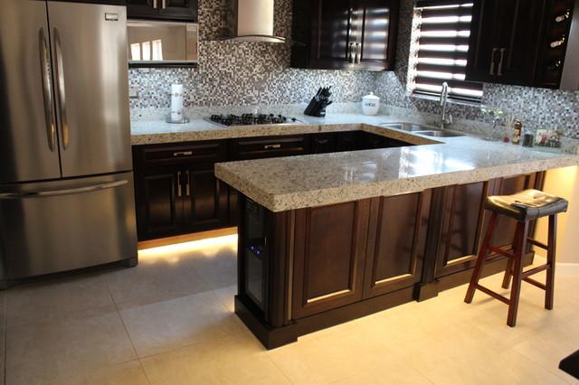 kitchen under countertop toe kick