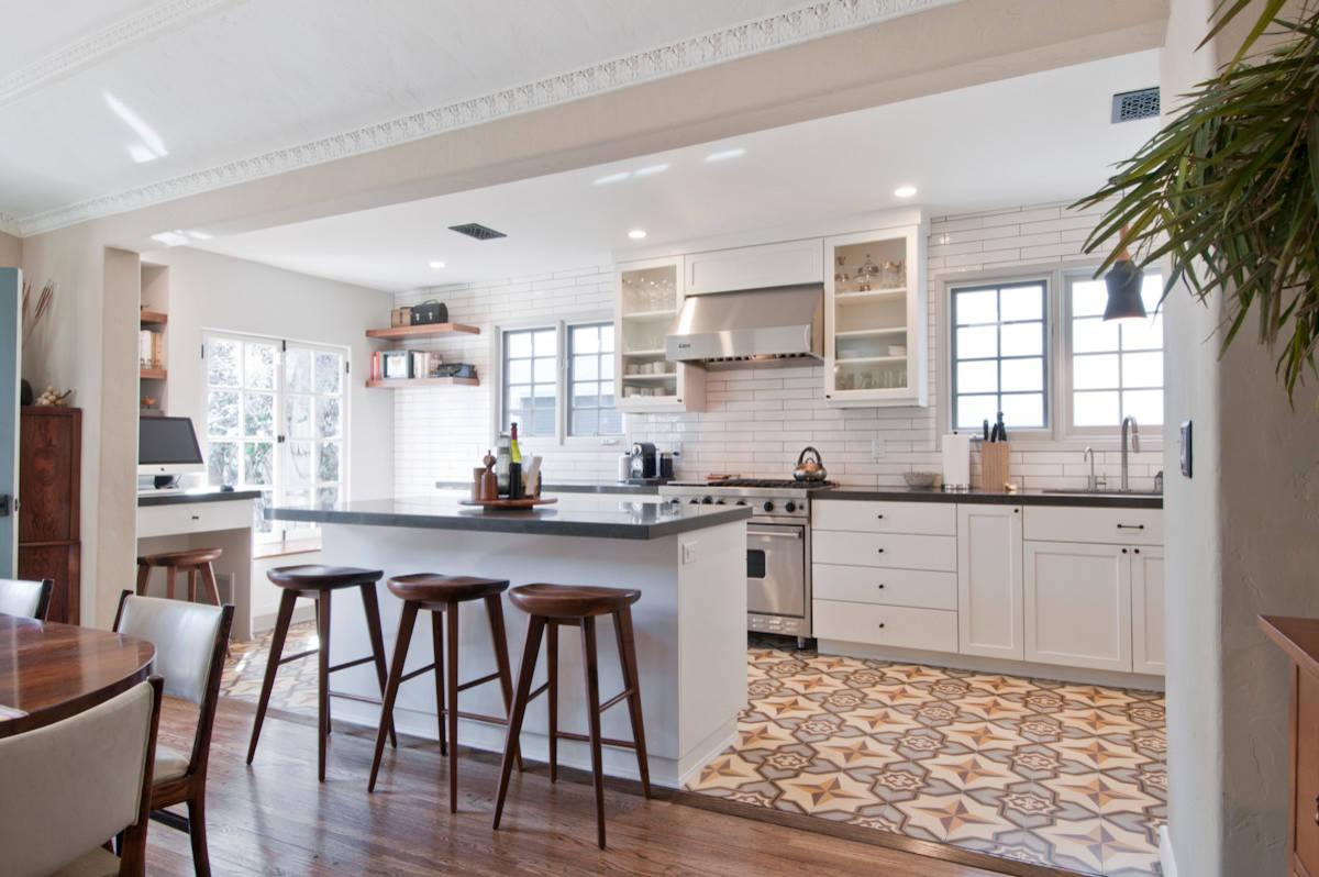 tile and wood floor combinations houzz