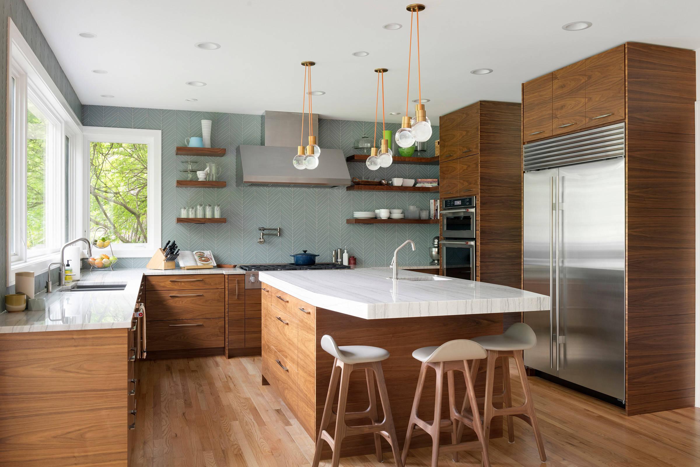 75 Beautiful Mid Century Modern Kitchen Pictures Ideas November 2020 Houzz