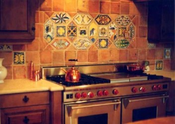 RE EDITION MEDIEVAL TILE Mediterranean Naples by Italian Decorative Art by Affanato & Co Houzz UK