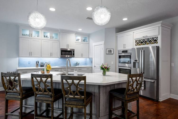 75 Beautiful Kitchen With Tile Countertops Pictures Ideas January 2021 Houzz