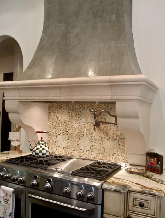 spanish tile backsplash houzz