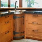 Whiskey Barrel Sink Houzz