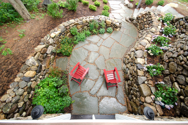 what to know about installing a stone patio