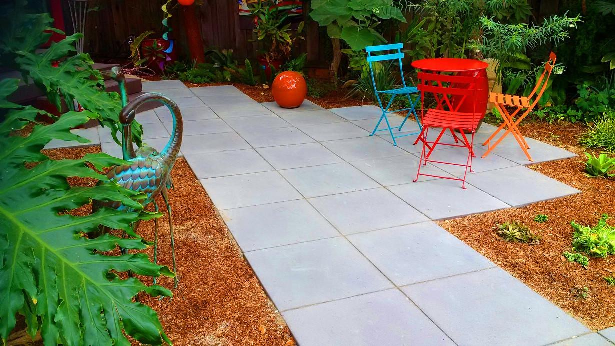 24x24 concrete pavers ideas photos