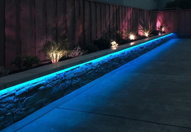 rgb led strip landscaping lights
