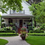 Front Porch Boxwood Topiary Ideas Houzz