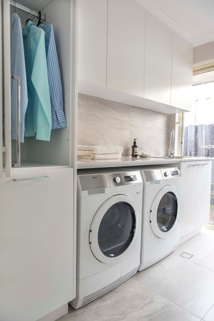 make room for hanging the wash