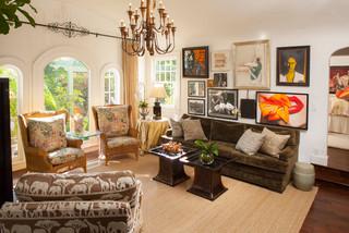 Finestre ad arco in casa: Tenda Per Finestra Ad Arco Foto E Idee Houzz