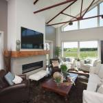 Fireplace Mantel With Tv Houzz