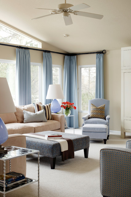 what colour curtains go with cream walls