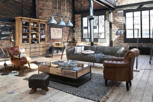 Bienvenue à l'hôtel maisons du monde hôtel & Industrial Style Maisons Du Monde Industrial Living Room London By Maisons Du Monde Uk Houzz