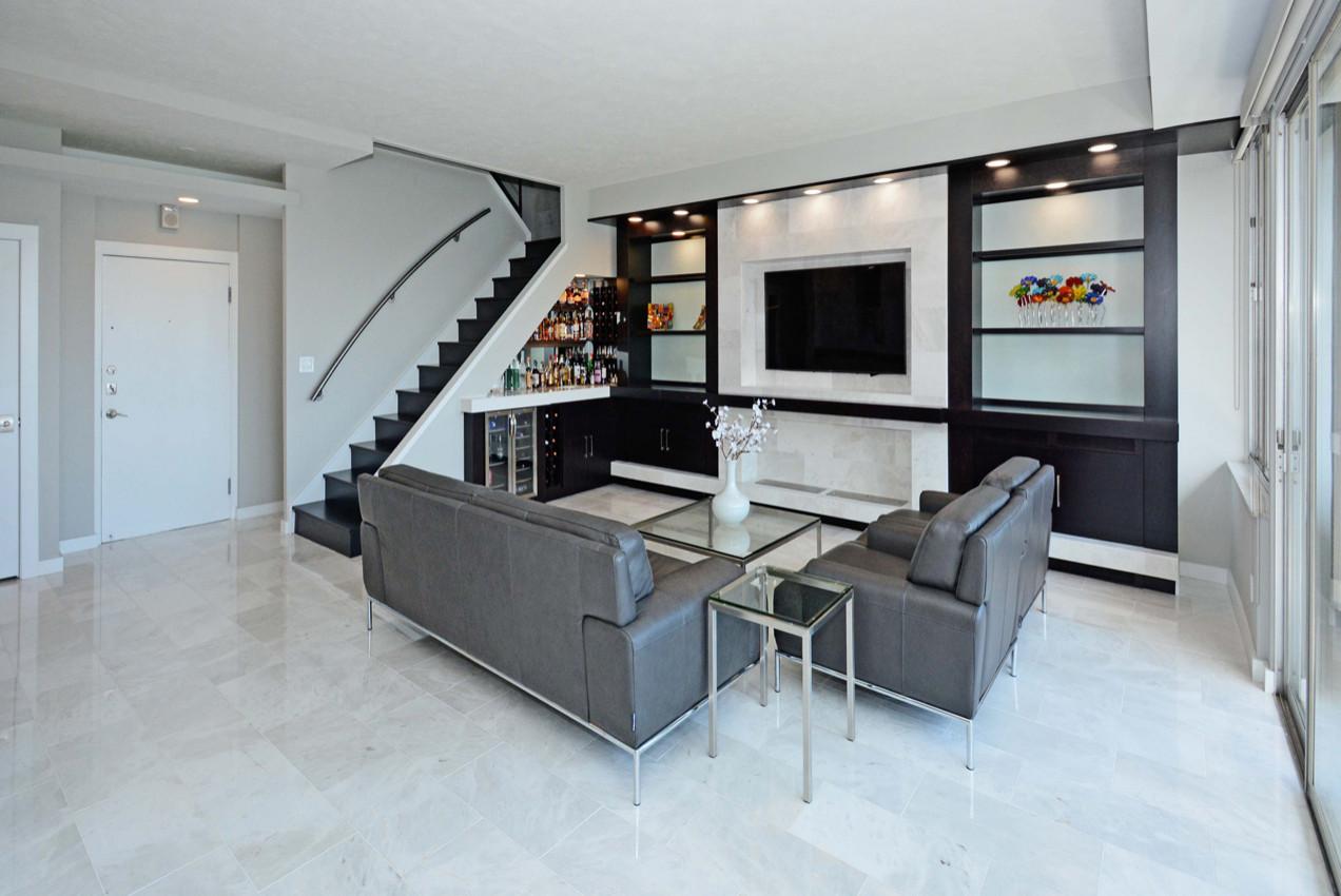 floor tiles modern living room houzz