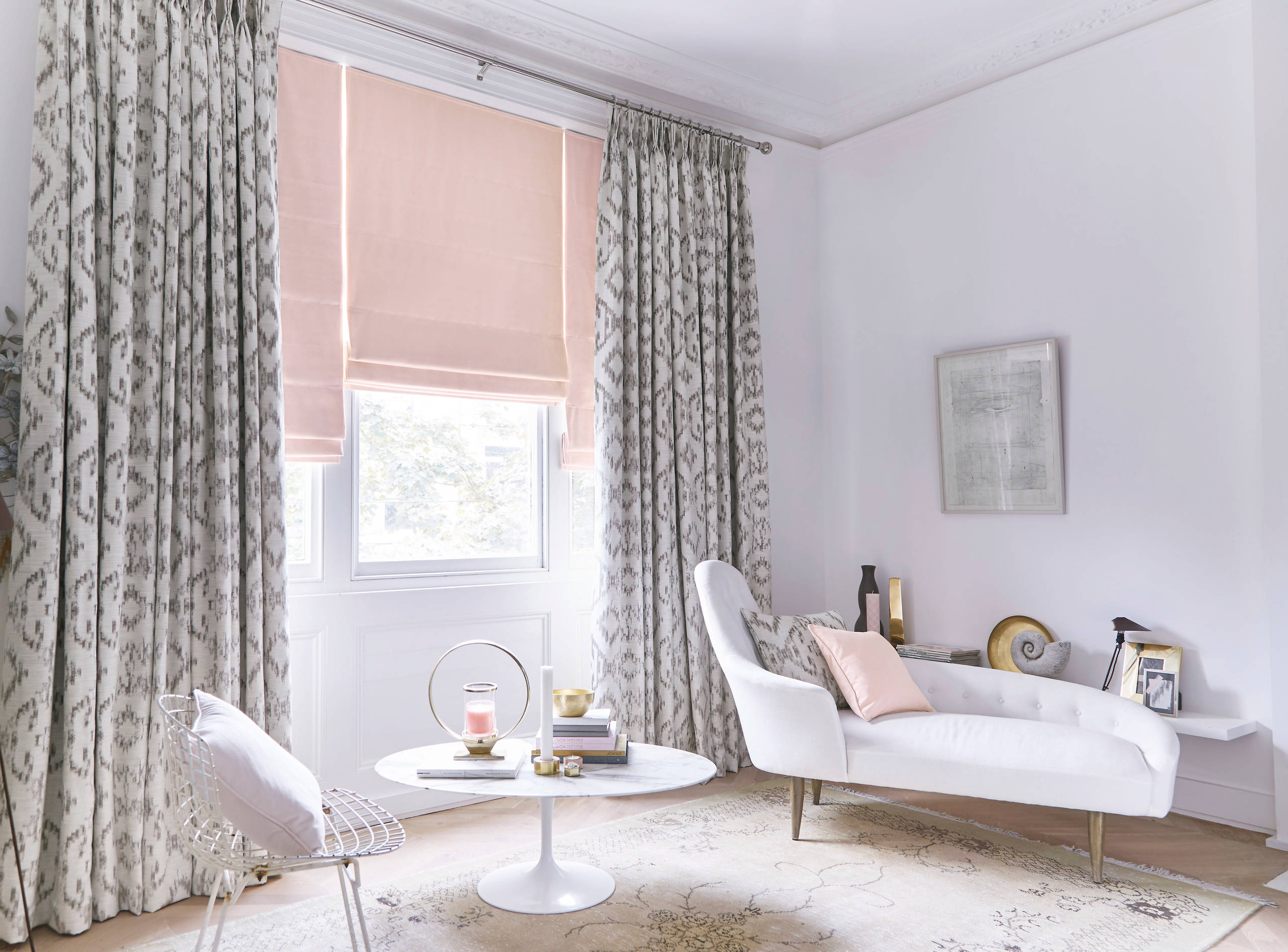 curtains with blinds living room ideas