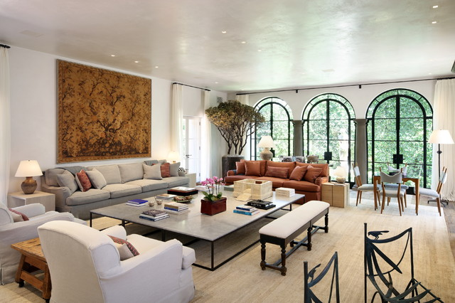 Arredamento e design di interni < Villa Firenze Mediterranean Living Room Los Angeles By Richard Manion Architecture Inc Houzz